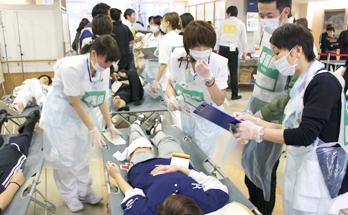 院内災害救護訓練